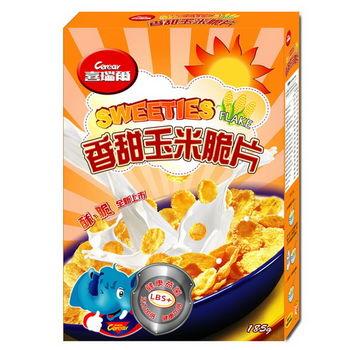 喜瑞爾─香甜玉米脆片(185g)*10入