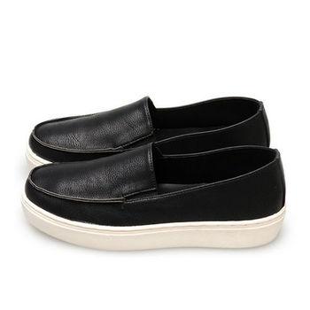 FUFA MIT 帥性頹廢舒適懶人鞋 (FL04) 黑