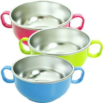 美國 Innobaby Din Din SMART 不銹鋼雙握把餐碗