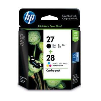 HP CC628AA NO.27+28 原廠黑+彩墨水組合包