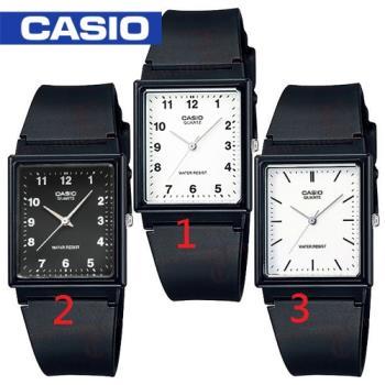 【CASIO 卡西歐】日系-學生/青少年指定款_錶面 23*25(MQ-27)