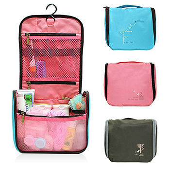 【旅遊首選、旅行用品】韓版外掛式小鳥包多功能洗漱包 盥洗包 收納包