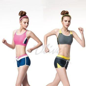 【蘋果品牌】台灣製時尚二件式短版比基尼泳裝NO.15447-15448(現貨+預購)
