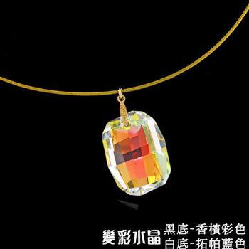 【xmono】魔力女王變彩水晶項鍊