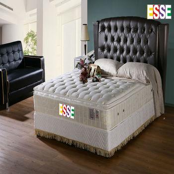 ESSE 御璽名床(護背系列)三線乳膠硬式床墊6x6.2尺-雙人加大