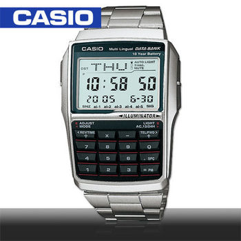 【CASIO 卡西歐】日系-旅行者最愛-電話記憶_備忘錄(DBC-32D)