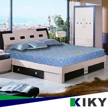 KIKY 一代日式印花蓆面彈簧床墊 單人3尺