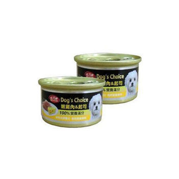 【BELICOM】倍力康 嫩雞肉+起司 小狗罐80G x 24入