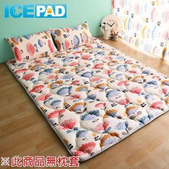 【ICE PAD】透心涼感日式收納床墊(雙人)