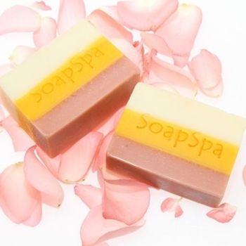 【SoapSpa】玫瑰迷迭香乳油木果手工皂(6入特惠組)