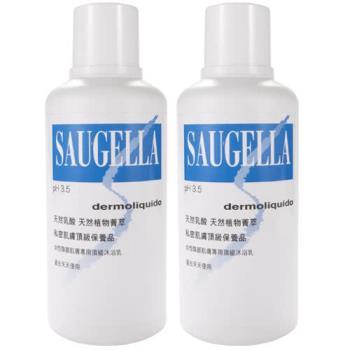 【SAUGELLA賽吉兒】菁萃潔浴凝露-日用型(500ml x2)