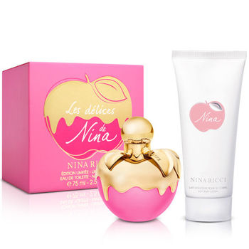 Nina Ricci 粉紅童話女性淡香水(75ml)-送品牌身體乳