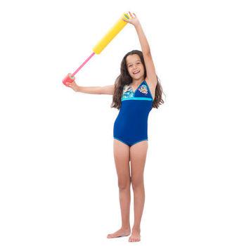 【sunseeker 泳裝】(50543)澳洲名品少女煙花絢爛系列連身泳裝