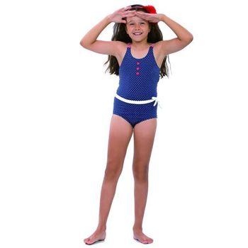 【sunseeker 泳裝】(50523)澳洲名品少女海軍風系列連身泳裝