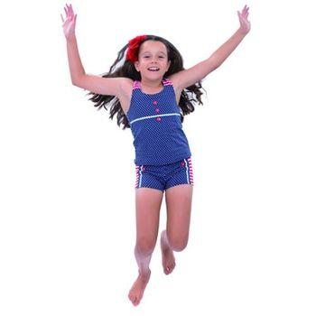 【sunseeker 泳裝】(53522)澳洲名品少女海軍風系列服裝