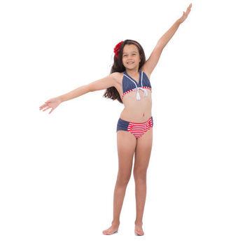 【sunseeker 泳裝】(53521)澳洲名品少女海軍風系列服裝