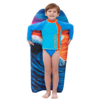 【sunseeker 泳裝】(41566)澳洲名品男童防曬T-shirt-不附褲子