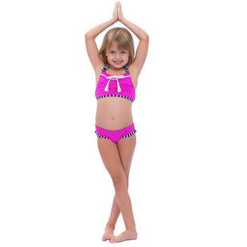 【sunseeker 泳裝】 (53519)澳洲名品女童時尚點點泳裝