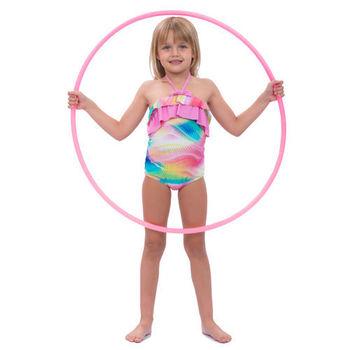 【sunseeker 泳裝】 (50516)澳洲名品女童夏日熱浪風系列連身泳裝