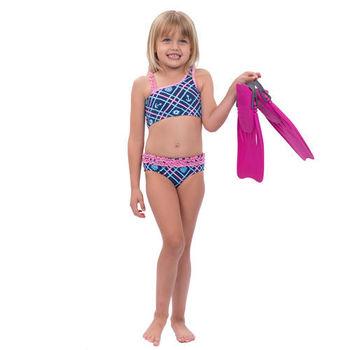 【sunseeker 泳裝】(53514)澳洲名品女童魅力幾何風系列-泳裝