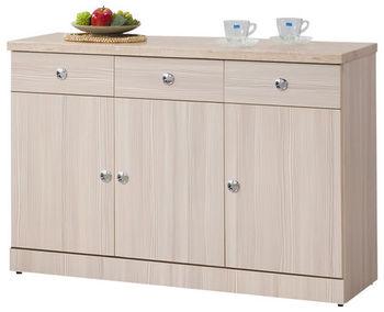 【時尚屋】[G15]蒂娜4尺餐櫃270-2