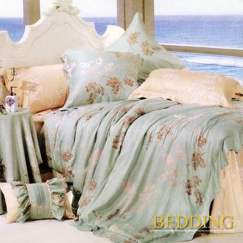 BEDDING 飄絮 雙人四件式天絲兩用被床包組 100%TENCEL