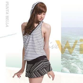 【潘它貝拉品牌】台灣製時尚四件式比基尼泳裝NO.1501002(現貨+預購)