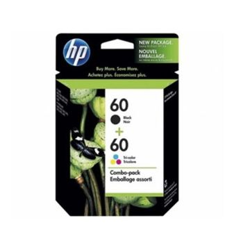 HP CN067AA NO.60 黑色+彩色原廠墨水組合包