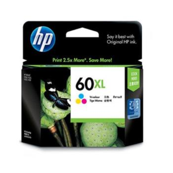 HP CC644WA NO.60XL 原廠彩色高容量墨水匣