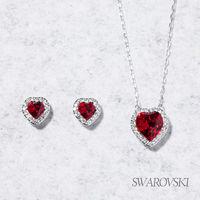 VIP  ^#45 ~SWAROVSKI~施華洛世奇 Cyndi Red 套裝組
