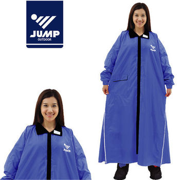 【JUMP】挺俏超輕質側開連身休閒風雨衣(2XL-4XL)