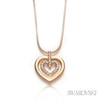VIP回饋 -【SWAROVSKI】施華洛世奇 Circle Heart 項鍊