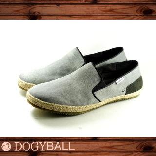 【Dogyball】JB004 Reed 輕鬆帆布懶人便鞋(灰色)