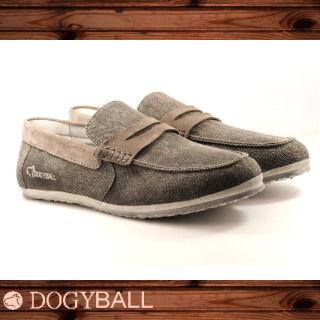【DOGYBALL】JB2 單寧帆船鞋(黑色)