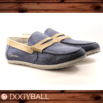 【DOGYBALL】JB2 單寧帆船鞋(丹寧藍色)