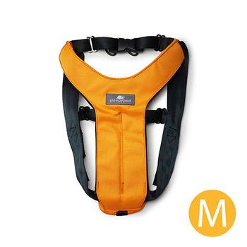 Sleepypod 寵物旅者安全胸背帶-橘M