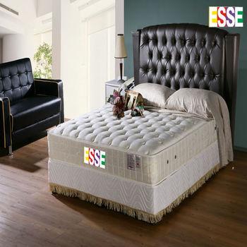 ESSE 御璽(護背系列)二線乳膠硬式床墊6x6.2尺-雙人加大