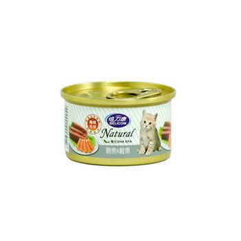 【BELICOM】倍力康 化毛貓-鮪魚+鮭魚 貓罐80G x 24入