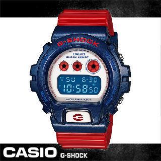 【CASIO 卡西歐 G-SHOCK 系列】美國隊長/鋼鐵人經典款(DW-6900AC)