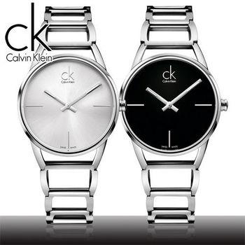 【瑞士 CK手錶 Calvin Klein】經典時尚名媛腕錶(K3G23121/K3G23126)