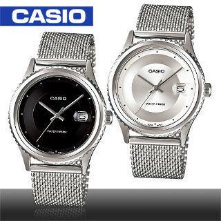 【CASIO 卡西歐】精鑽時尚不鏽鋼網錶帶紳士錶(MTP-1365BD)