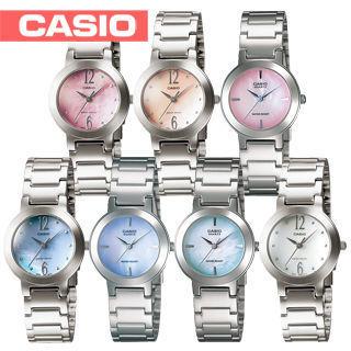 【CASIO 卡西歐】送禮首選-小徑面-多彩時尚淑女錶-附錶盒(LTP-1191A)