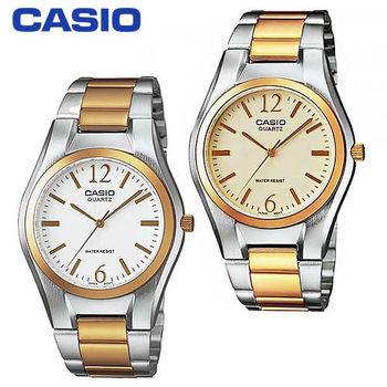【CASIO 卡西歐】白領階級/上班族/紳士石英男錶(MTP-1253SG)