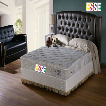 ESSE 御璽(護背系列)二線乳膠硬式獨立筒床墊5x6.2尺-雙人