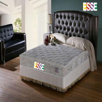 ESSE 御璽(護背系列)二線乳膠硬式獨立筒床墊6x6.2尺-雙人加大