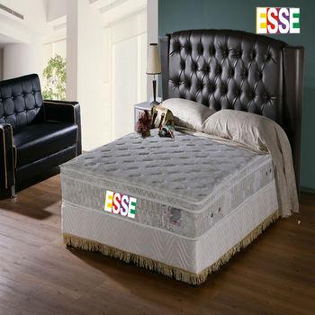 ESSE 御璽(護背系列)三線乳膠硬式獨立筒床墊5x6.2尺-雙人