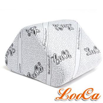 LooCa 竹炭紗萬用三角靠墊
