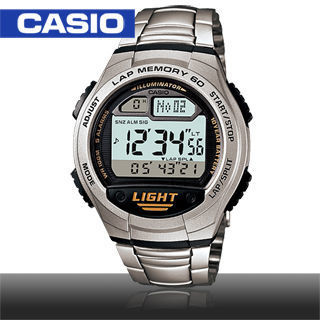 【CASIO 卡西歐】學生/青少年/指導員/運動錶(W-734D)