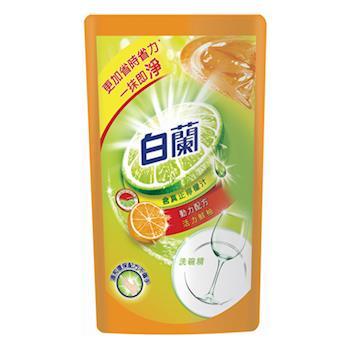 白蘭 全新動力配方洗碗精補充包-鮮柚(800g x12包)