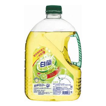 白蘭 全新動力配方洗碗精-檸檬(2.8kg x4罐)